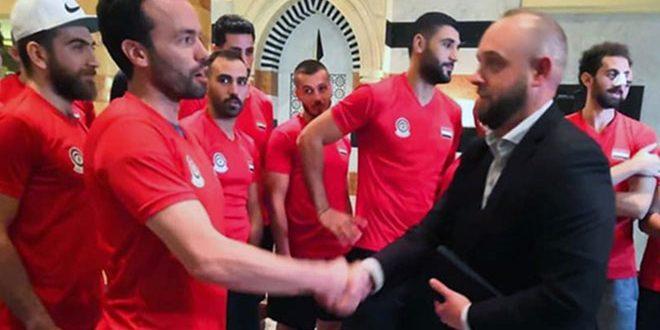 مدرب أجنبي جديد لمنتخب سورية لكرة السلة