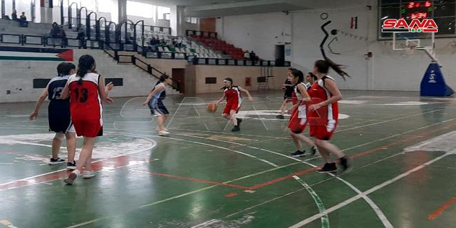 فوز أزرع على الكفر ولاهثة على العربي في دوري كرة السلة لفئة الناشئات
