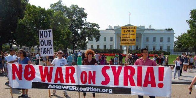 مفكر سياسي أمريكي يدعو لفضح الجرائم الأمريكية وأسرارها (القذرة) في سورية
