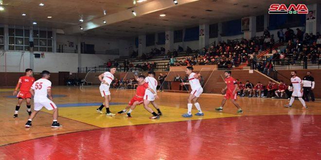 اختتام منافسات تجمع حماة لبطولة دوري الشباب بكرة اليد