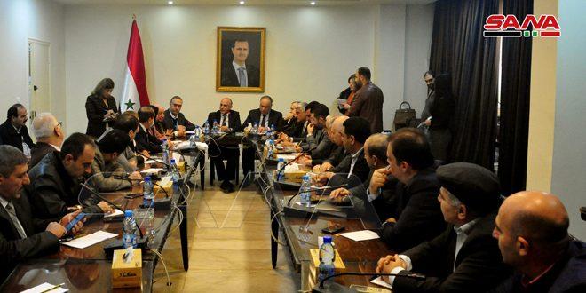 لجان مجلس الشعب تناقش القضايا المعيشية والخدمية وقضايا أسر الشهداء وضحايا الحرب