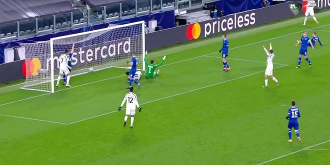 يوفنتوس يفوز على دينامو كييف بثلاثية نظيفة في دوري أبطال أوروبا