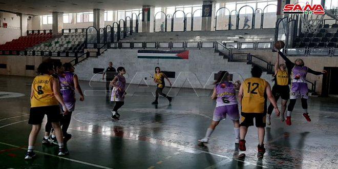 فوز الفيحاء على العربي في دوري كرة السلة للسيدات