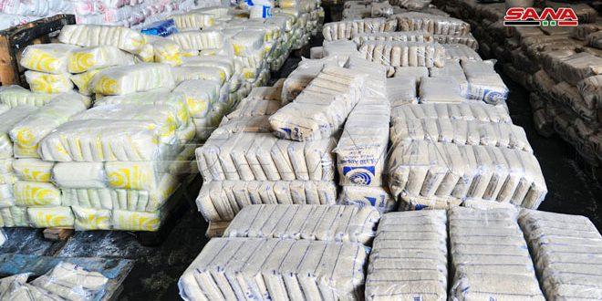 التجارة الداخلية: بدء طلب مخصصات مادتي السكر والأرز على البطاقة الإلكترونية لشهري كانون الأول والثاني