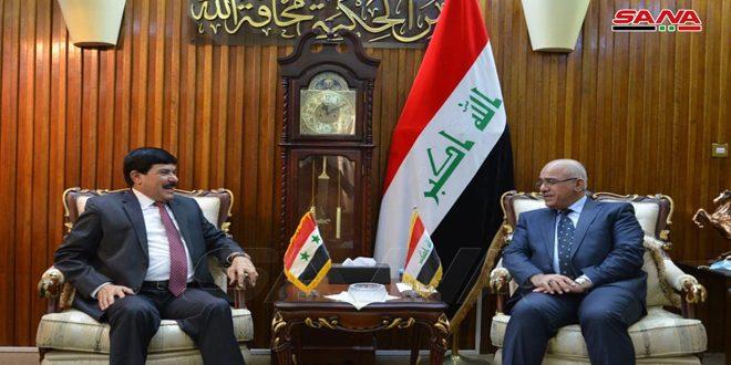 مباحثات سورية عراقية لتطوير العلاقات الأكاديمية بين جامعات البلدين