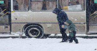 موجة برد في موسكو