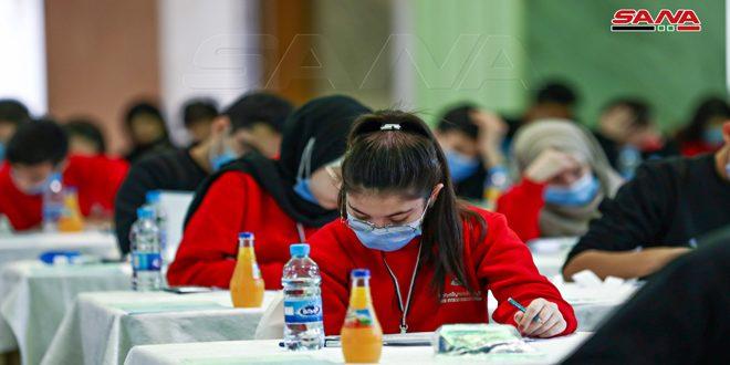 اختتام اختبارات التصفيات النهائية للأولمبياد العلمي السوري… تتويج وتكريم الفائزين غداً