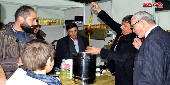 انطلاق فعاليات مهرجان العسل السوري الثاني بمدينة الجلاء بدمشق