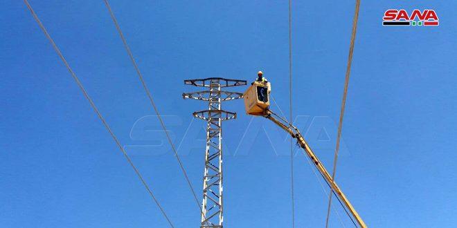 انقطاع التيار الكهربائي عن القنيطرة جراء عطل فني على خط 66 المغذي للمحافظة