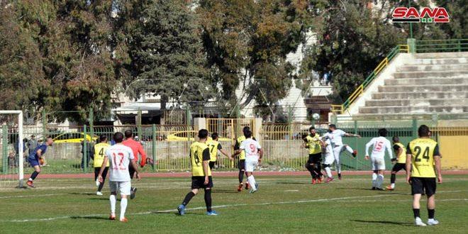 تأهل العربي للتجمع النهائي للدرجة الأولى بكرة القدم