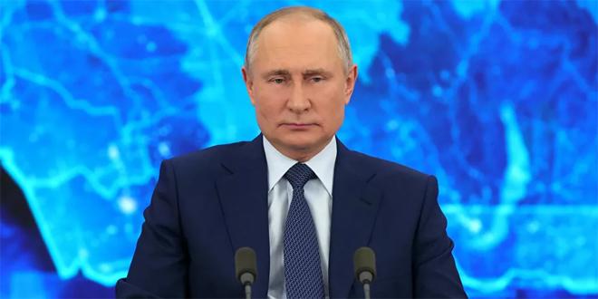 بوتين: التهديد الأخطر هو الإرهاب ومكافحته مستمرة في سورية
