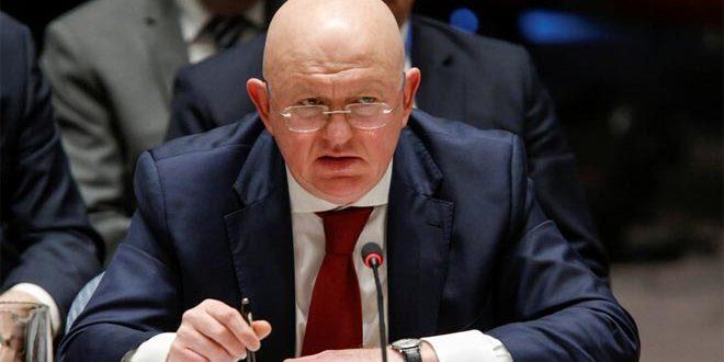 نيبينزيا: القوات الأمريكية تحتل أراضي من سورية ولا تقدم شيئاً في المجال الإنساني