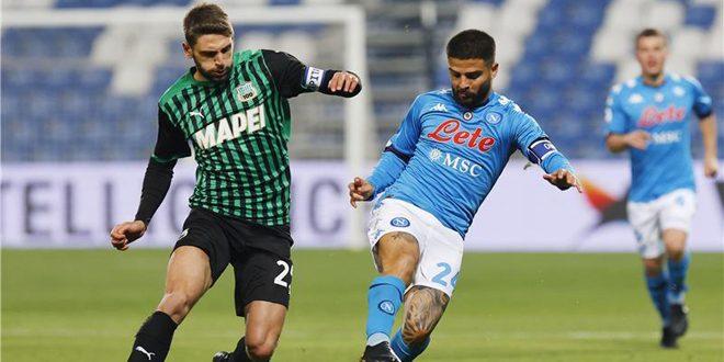 نابولي يتعادل مع ساسولو في الدوري الإيطالي
