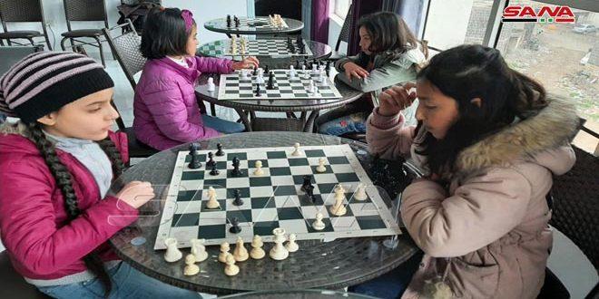 اختتام منافسات بطولة السويداء بالشطرنج للفئات العمرية