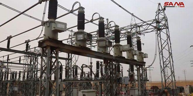 انقطاع الكهرباء عن محافظة دير الزور جراء عطل على خط التوتر 230