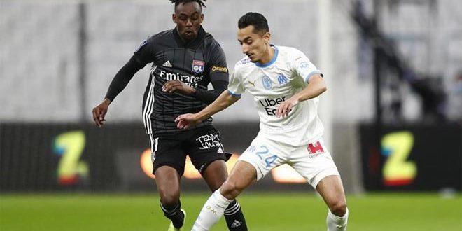 تعادل مارسيليا وليون بهدف لكل منهما في الدوري الفرنسي لكرة القدم