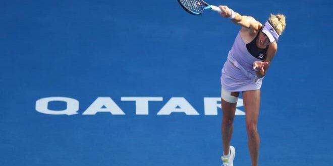 التشيكية بليشكوفا إلى ربع نهائي بطولة قطر المفتوحة للتنس