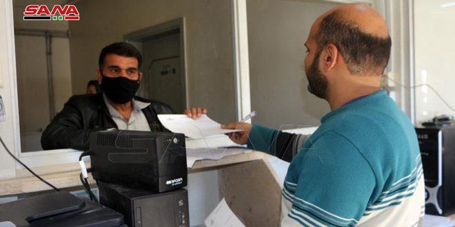 تلبية لمطالب المتقاعدين… تأمين مقر مؤقت لفرع التأمين والمعاشات وسط مدينة درعا