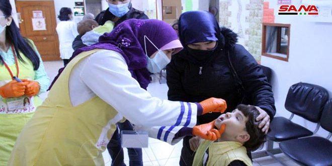 الصحة تطلق الحملة الوطنية الأولى لعام 2021 ضد شلل الأطفال