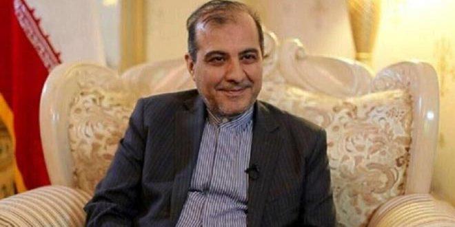 خاجي يبحث مع بيدرسون سبل التسوية السياسية للأزمة في سورية