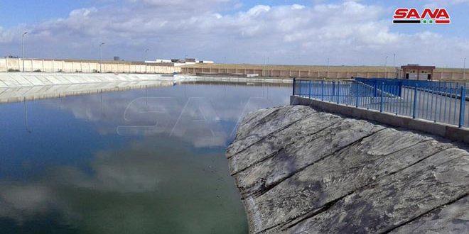 بكلفة 8ر1 مليار ليرة.. المهندس عرنوس يضع محطة معالجة مياه الصرف الصحي والصناعي في المدينة الصناعية بحسياء بالخدمة
