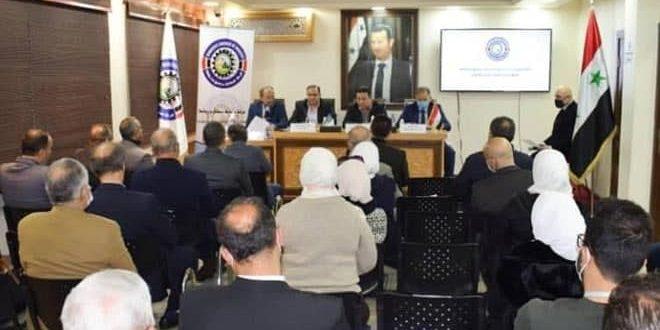 اجتماع لغرفة صناعة دمشق وريفها.. توحيد الجهود لتأمين السلع اللازمة للمواطنين خلال شهر رمضان
