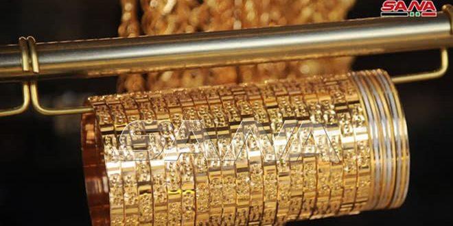 انخفاض جديد في سعر الذهب بالأسواق المحلية وغرام 21 يتراجع 7 آلاف ليرة
