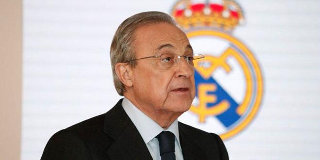 فلورنتينو بيريز رئيساً لريال مدريد حتى 2025