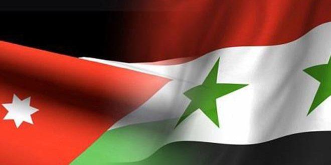 مباحثات سورية أردنية لتنشيط العلاقات الاقتصادية بين البلدين