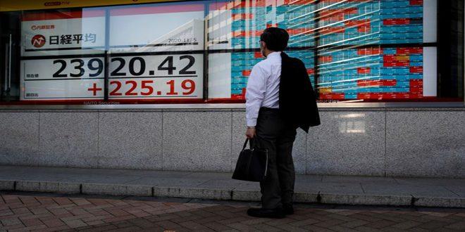مؤشر نيكي ينخفض 11ر1 بالمئة في بداية التعامل ببورصة طوكيو