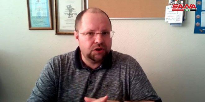 إعلامي روسي: من ينتقد إجراء الانتخابات الرئاسية في سورية لا يريد الاستقرار فيها