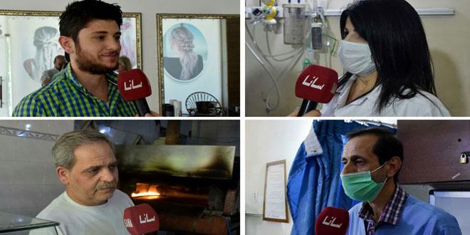 مواطنون من حمص: المشاركة بالانتخابات رسالة تحد ونصر على أعداء سورية