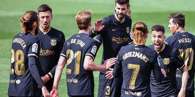 برشلونة يحصن موهبته الجديدة غونزاليس بنصف مليار يورو