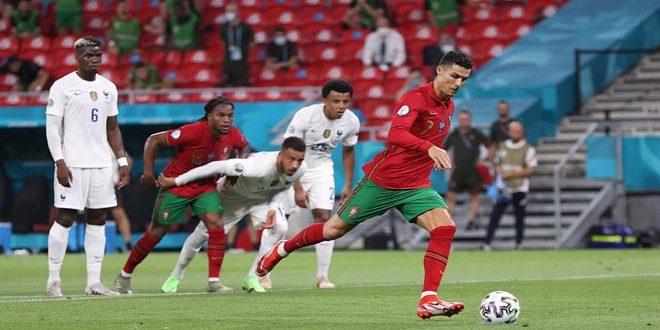 رونالدو يعادل رقم الإيراني علي دائي القياسي بعدد الأهداف الدولية