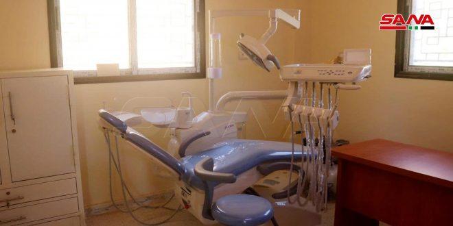 خدمات صحية متعددة يقدمها مركز المسرب الصحي بريف دير الزور بعد إعادة تأهيله