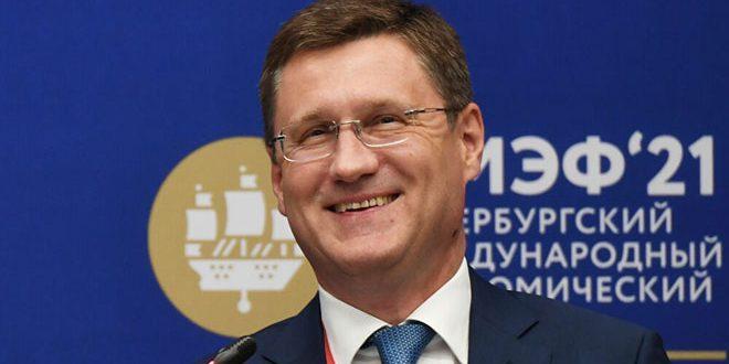 نوفاك: لا توجد اقتراحات بشأن الإطار الزمني لمعايير إنتاج النفط