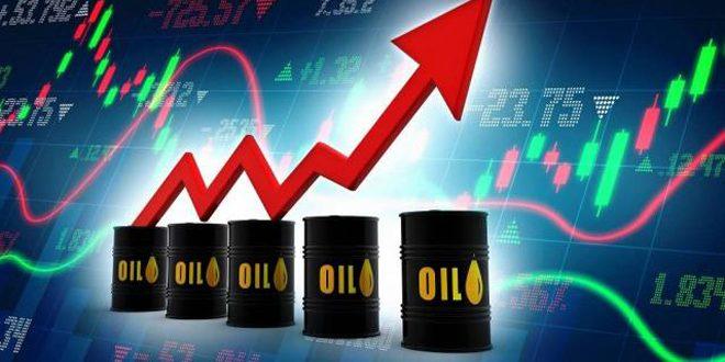 النفط يواصل الارتفاع ويقترب من 75 دولاراً