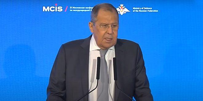لافروف: مستمرون بتقديم الدعم لسورية في محاربة الإرهاب والتوصل إلى حل سياسي للأزمة فيها