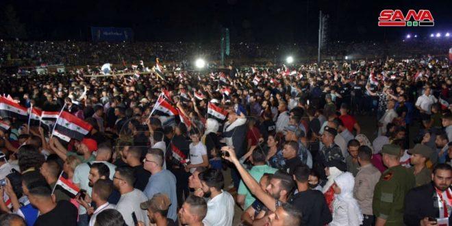 سفراء وشخصيات عربية ودولية: إنجاز الاستحقاق الانتخابي الرئاسي نصر جديد لسورية