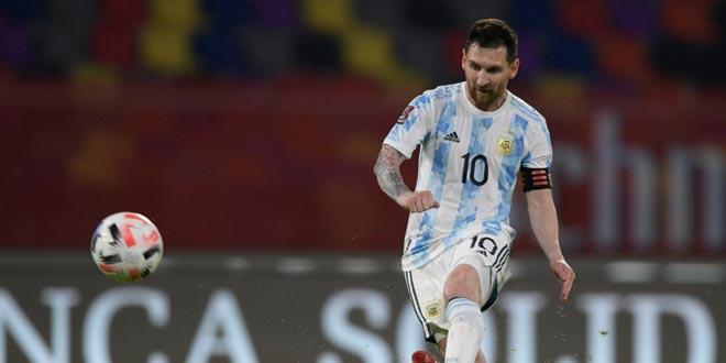 ميسي يحقق أرقاماً قياسية برفقة منتخب بلاده في بطولة كوبا أمريكا 2021