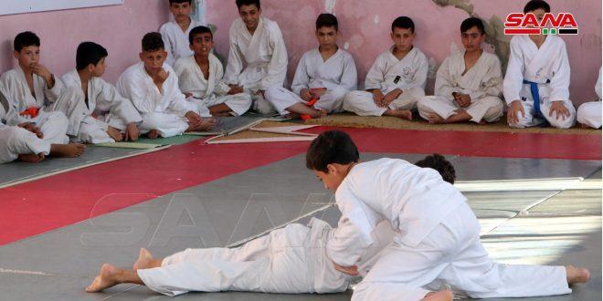 فنية اللاذقية للجودو والسامبو تقيم بطولة الأشبال والشبلات