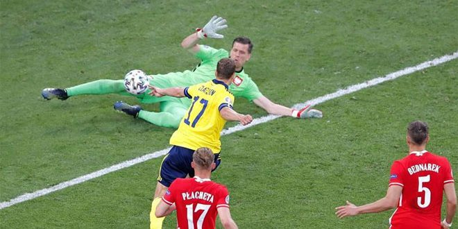 السويد تتصدر المجموعة الخامسة بالفوز على بولندا