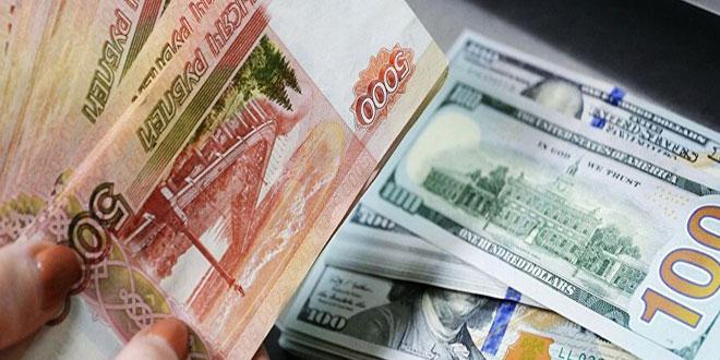 الروبل الروسي يرتفع أمام الدولار واليورو وسط صعود أسعار النفط