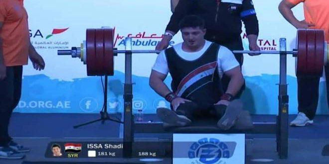 شادي عيسى يحقق المركز الرابع في بطولة فزاع الدولية للرياضات الخاصة