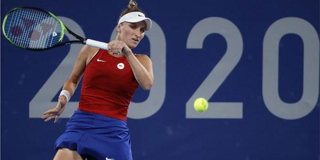 فوندوروسوفا تتأهل لنهائي بطولة التنس في أولمبياد طوكيو