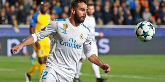 ريال مدريد يجدد عقد لاعبه كارفاخال