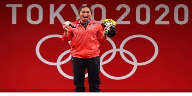 الرباعة الفلبينية دياز تتوج بأول ذهبية في تاريخ بلادها بالألعاب الأولمبية