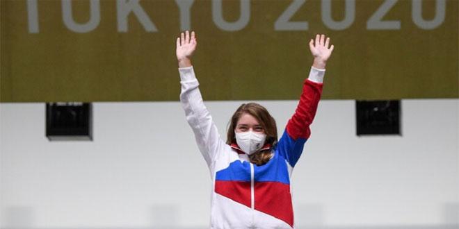 روسيا تحرز ميداليتين ذهبية وفضية في أولمبياد طوكيو