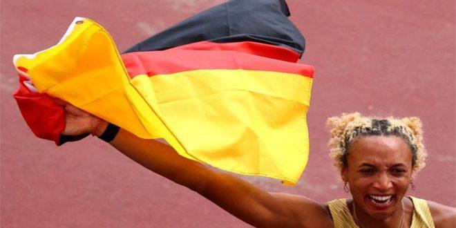 الألمانية ميهامبو تتوج بذهبية الوثب الطويل بمنافسات أولمبياد طوكيو