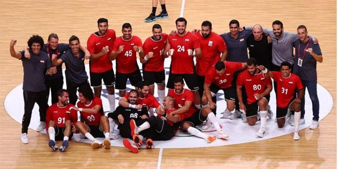 مصر تتأهل إلى نصف نهائي كرة اليد بأولمبياد طوكيو